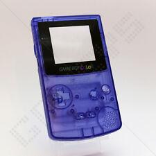 Nuevo claro púrpura oscuro Nintendo Game Boy Color Gbc caso/Shell/vivienda de reemplazo