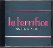 Salsa RARE CD FANIA First Pressing LA TERRIFICA Sabor a Pueblo HECTOR PICHIE PER