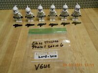 Lego Star Wars Clone Troppers Phase 1 Minifigure Lot (Var.) Authentic Lego VGUC