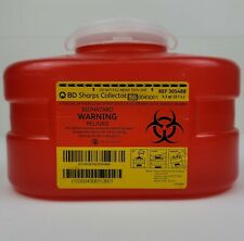 Bd Sharps Collector 33 Qt Container For Insulin Syringes Needles 31 L