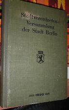 Antiquarische Bücher aus Berlin mit Orts- & Landeskunde-Genre als Erstausgabe