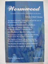 Mark Valentine [Ed.] - WORMWOOD No. 14 (Spring 2010) – Tartarus Press