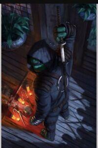 CONFIRMED TMNT The Last Ronin #4 Aaron Bartling LTD 500 VIRGIN (SHIPS SEPTEMBER)