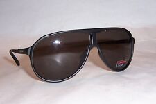 NEW Carrera Sunglasses NEW CHAMPION/S GUY-NR BLACK/BROWN GRAY AUTHENTIC