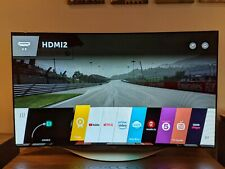 """LG 55EC930V Curved OLED Full HD 3D Smart TV, 55"""" with Freeview HD"""
