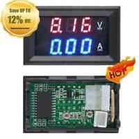 DC 0-100V 10A Dual LED Digital Voltmeter Amperemeter AMP Power Spannung