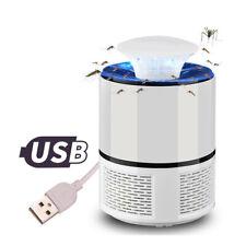 ASPIRATORE LAMPADA LED ZANZARA ANTI ZANZARE ZANZARIERA ELETTRICA USB 8120