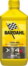 1 LITRO OLIO MOTORE MOTO 4t Bardahl Bardhal X4T-S XTS C60 10W60 100 % SINTETICO