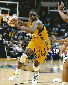 Nneka Ogwumike signed Los Angeles Sparks 8x10 photo autographed LA 10 JSA