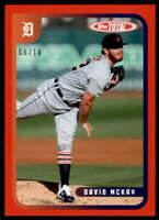 David McKay 2020 Topps Total Red #517 /10 Tigers