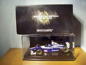 1/43 MINICHAMPS 1997 WORLD CHAMP ED WILLIAMS FW19 JACQUES VILLENEUVE HILL COVER