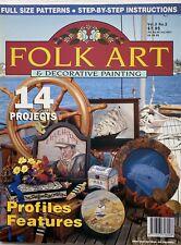Australian Folk Art & Decorative Painting Magazine Volume 3 No 2