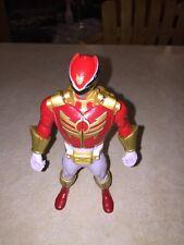 """2013 Power Rangers Super Megaforce Red Double Battle Action Figure 6.5"""" (1)@"""