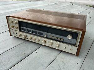 Sansui Vintage Amplifier QRX-7500A Wood Case