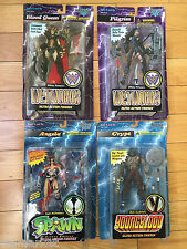 McFarlane, Spawn Red Angela Wetworks Blood Queen, Pilgrim, Crypt from Youngblood