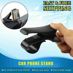 Universal Car Dashboard HUD Phone Holder Mount Cradle Clamp For iPhone Samsung