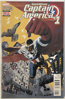 Sam Wilson Captain America #1 (2015 Marvel)