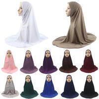 Women Prayer Head Long Scarf Hijab Jilbab Islamic Large Clothes