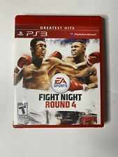 Fight Night Round 4 (Sony PlayStation 3 PS3, 2009) Complete in Box