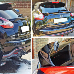 Painted Fit For NISSAN JUKE F15 SUV D Style Rear Trunk Middle Spoiler SL