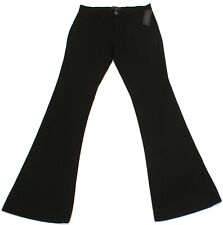 BANANA REPUBLIC SLOAN BLACK FLARE STRETCH PANTS SLACKS TROUSERS WOMENS SZ 0