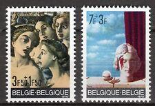 Belgium - 1970 Solidarity / Paintings - Mi. 1618-19 MNH