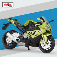 Miniature Maisto 1/18 Black BMW S 1000 RR Motorcycle Diecast Model For Boys&Girl