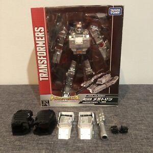 Transformers Takara Tomy Legend LG13 Megatron PLUS UPGRADE KIT BIB Like New
