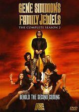 Gene Simmons Family Jewels - Season 2 (DVD, 3-Disc Set - Free First Class Ship)