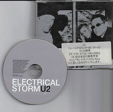 U2 Electrical Storm Promo CD For JAPAN Market with Promo Sticker