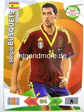 Adrenalyn XL - Sergio Busquets - Spanien - Road to 2014 FIFA World Cup Brazil