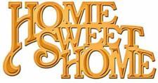 Home sweet Home - Stanzschablone von Spellbinders (S2-086)