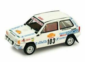 Fiat Panda 30 Gr.a Rally Of San Remo (1982) 1:43 2008 K004 Brumm