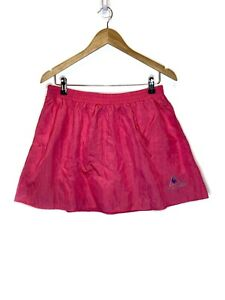 Le Coq Sportif Vintage Womens Size Large Pink Athletic Tennis Skirt Pink