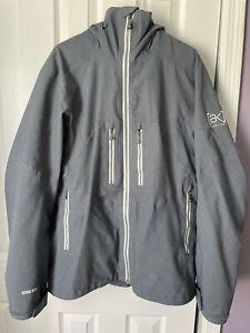 Burton AK Snowboard jacket Gore Tex Blue medium