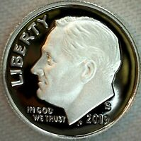 2019 S Silver Roosevelt Proof Dime 10c US Coin Ten Cents