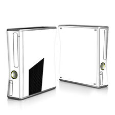 Xbox 360 S Console Skin - Solid State White - DecalGirl Decal