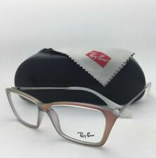 New RAY-BAN Eyeglasses SHIRLEY RB 7022 5497 52-14 Iridescent Red-Gunmetal Frames