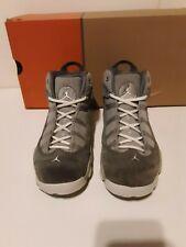 Jordan 6 Rings Matte Silver/White-Cool Grey 323432-014 size 3Y