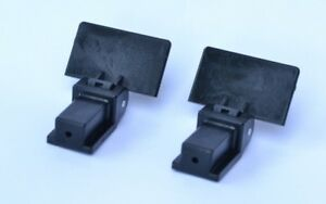 Pair of dustcover lid Hinges for Omnitronic BD-1550 BD-1390 DD-2520 Turntable