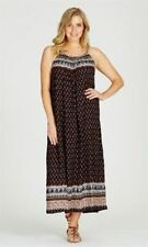 CROSSROADS DRESS MULTI-COLOURED MAXI DRESS, Sz 14-16 NWT (#9F)