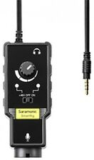 Saramonic SmartRig II Profession Audio Adaptor XLR Microphone Preamp and