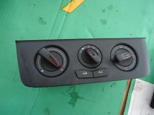 Seat Ibiza 6J 08-16 Heater Control Switch With A/C BEHR 6j0820045 0000340833
