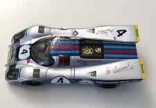 Martini Porsche 917K Daytona 24 h. 1971 AutoArt 1:18 Hand signed by BOTH drivers