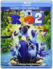 Rio 2 Blu-ray DVD + HD Digital Copy  NEW!  USA Release Toucan Bird Anne Hathaway