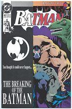 BATMAN #497 July 1993 NM/MT 9.8 W BANE BREAKS BATMAN'S BACK Kelley JONES Cover