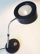SUPERBE LAMPE DE BUREAU GRISE TOLE PERFOREE 1950 1960 VINTAGE 50s 60s ROCKABILLY