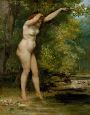 Courbet Gustave The Young Bather Print 11 x 14  #5861