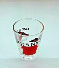 Arkansas State Shot Glass Souvenir Glasses