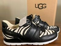 UGG DEAVEN EXOTIC 1019654 ZEBRA WOMAN'S FASHION SHOES AUTHENTIC SIZE 7 BRAND NEW